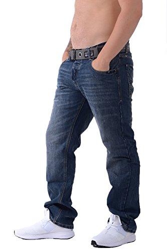 Jeans Crosshatch New Embossed Techno SW - Dark Wash New Wak