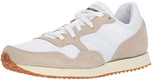 Saucony DXN Trainer Vintage, Zapatillas de Cross para Hombre, Blanco (White/Gum 17), 42 EU
