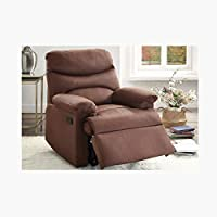 Home Box Arcadia 1 Seater Recliner-Dark Brown