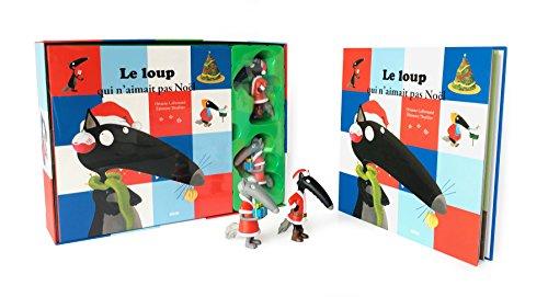 Le coffret Loup et Louve de Noël : Avec 2 figurines