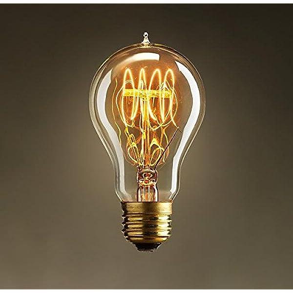Vintage Style Light Bulb (Edison, Loop
