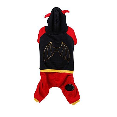 Kostüm für Hunde Flügel–Größe (Doge Kostüm Hund)