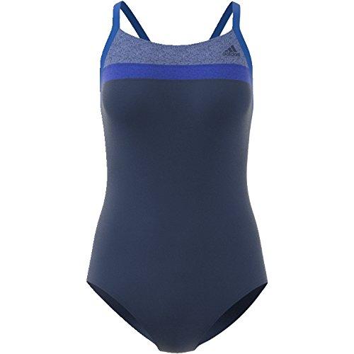 5c6fd56fc330 adidas Damen Occ Swim Infinitex Badeanzug Mystery Blue Blue ...