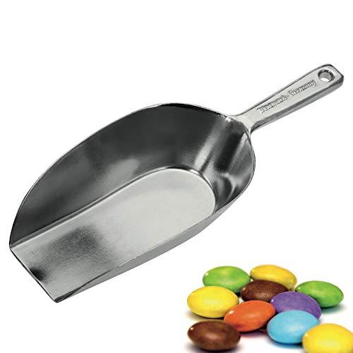 Westmark Kleine Abwiege-/Abfüllschaufel, Füllvolumen: 37 ml (ca. 35 g Mehl), Aluminium, Hygia, Silber, 91012291