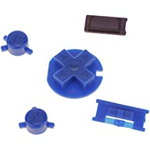 Segolike Replacement Custom Blue Colour Buttons for Nintendo Game Boy Color GBC