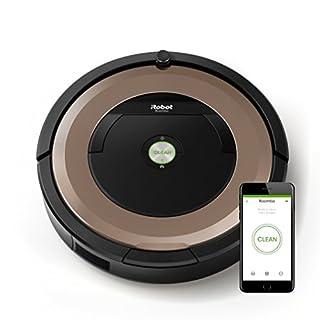 iRobot Roomba 895 - Robot Aspirador Óptimo para Mascotas, Succión 5 Veces Superior, Cepillos de Goma Antienredos, Dirt Detect, Suelos Duros y Alfombras, Wifi, Programable por App, compatible con Alexa (B071ZPSPNY) | Amazon Products