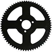 54–70dientes Cadenas Rueda trasera compatible con 6mm/8mm 25H/T8F Mini Moto Cadena sustituir piezas