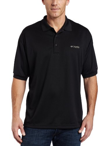 Columbia Herren perfekt Guss Polo Shirt XL Schwarz -