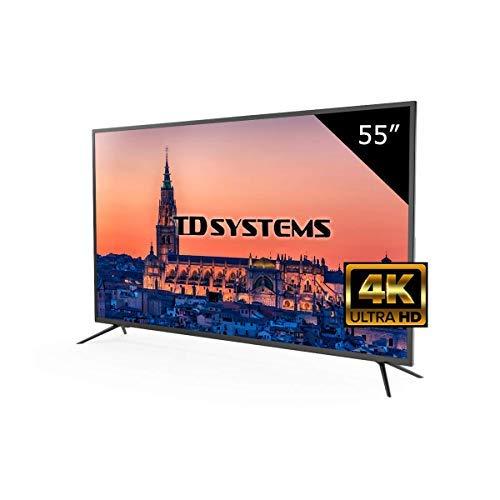 Televisor Led 55 Pulgadas Ultra HD 4K TD Systems K55DLM8U