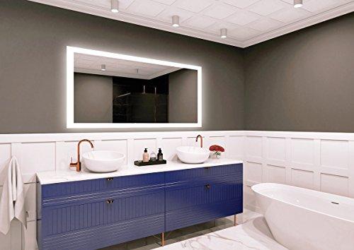 Specchio led premium dimensioni dello specchio 130x80 cm