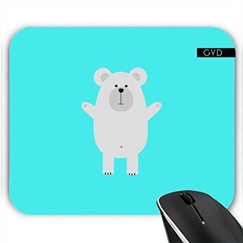 Preisvergleich Produktbild Mousepad - Glücklich Polar by ilovecotton