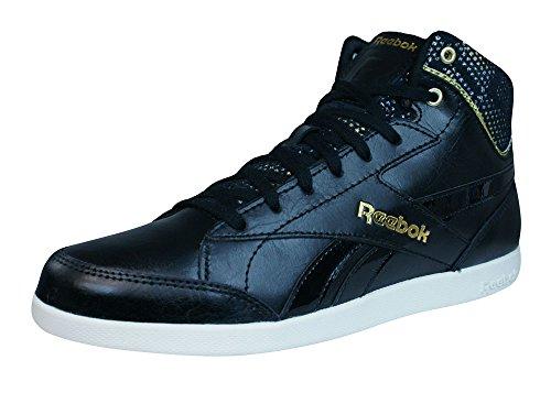 Reebok Fabulista Mid II, Baskets mode femme Noir