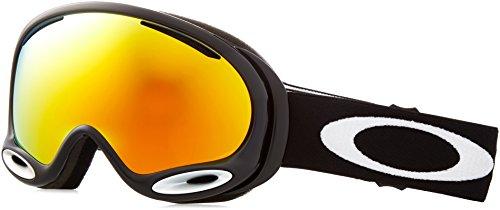 Oakley 59-631_Jet Black_One Size - Maschera da sci unisex, Taglia unica, colore: Nero nero
