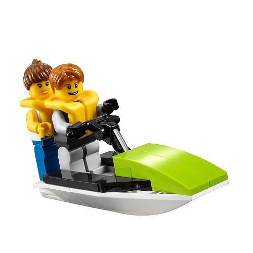 LEGO City Hafen 30015 Jetski + 2 Figuren Exklusives Promoset