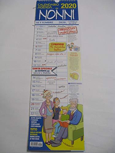Agenda della Famiglia 2020 da Parete in Verticale F.TO 43X30 CM SUDOKU SRL Calendario