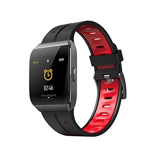 Fitness Tracker Bluetooth Smartwatch, Smartwatches Unlocked Watchphone Kann Anrufe Und SMS Mit Touchscreen-Kamera Notification Sync Kompatibel Für Android Ios,Red Red Unlocked Smartphone