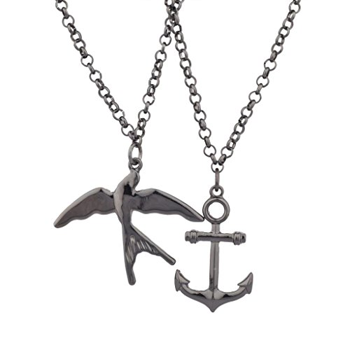 lux-accessoires-colombe-oiseau-anchor-best-friends-forever-bff-bronze-collier-lot-2-pc