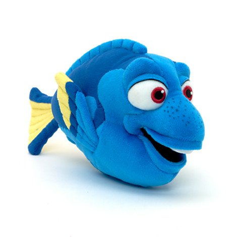 Offizielle Disney Finding Nemo H13 x L22cm Dory weiches Plüsch-Spielzeug