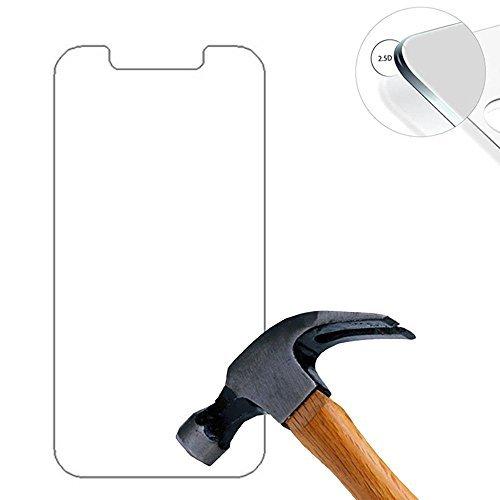 Lusee® 2 X Pack Panzerglasfolie Tempered Glass Hartglas Schutzfolie für Umi Iron/Umi Iron Pro 5.5 Zoll Premium Screen Folie Protector Ultra Hart Bildschirmschutz 0,3mm 9H Clear 2.5D