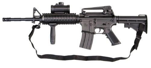 Softair Gewehr M4 Model 4 Navy Commando RIS AEG, elektrisch, 6 mm BB Airsoft
