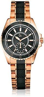 Guess Reloj analogico para Hombre de Cuarzo con Correa en Acero Inoxidable 47001L1