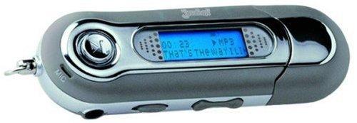 128 Mb Mp3 - (JAMBA! U100 Tragbarer MP3-USB-Stick mit 128 MB in silber)
