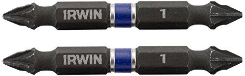 Irwin 1923405 - 60 millimetri impatto pz1 doppio-fine punta di cacciavite set (2 unità)