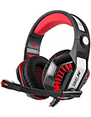 Ant Esports H900 Surround Stereo Gaming Over Ear Headphones with Mic (Black and Red)