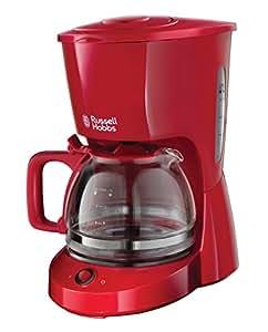 Russell Hobbs 22611-56 Macchina del Caffè Americano, 975 W, 10 Tazze, Rosso