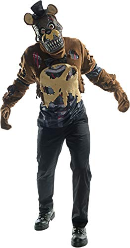 Five Nights At Freddy's Nightmare Freddy Costume Adult Small