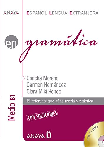 Nuevo Sueña: Gramática. Nivel medio B1 (Anaya E.L.E. En - Gramática - Nivel Medio (B1)) por Concha Moreno García