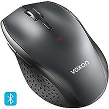 Mouse Bluetooth, VOXON Mouse Wireless per Windows e Mac, 3000DPI, Durata delle batterie di 24 Mesi, 5 livelli di DPI regolabile