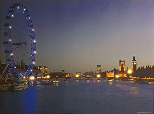 Steepletone SP20London Eye Monochrome LED Bild (London Eye-bild)