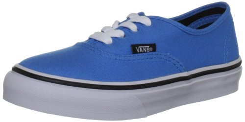 Vans Authentic, Sneaker Unisex-Bambini blu (Malibu Blue/Black)