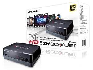 AVerMedia HD EzRecorder Plus (C283S)-Enregistrez Facilement Et sans PC Toutes Vos Sources Vidéos HD (YUV) jusqu'en 1080p (fw.3.1.2 ou plus tard)