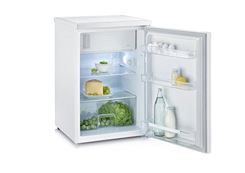 Severin KS 9819 Mini-frigorífico con compartimiento congelador, 105 l/14 l, blanco