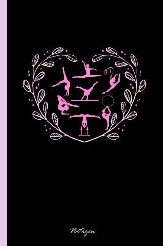 """Notizen: Notizbuch, Journal & Tagebuch Für Turnerinnen, Turner, Turn-Athleten - Geschenk Für Kinder, Schule & Freizeit, Punkteraster (120 Seiten, 6x9"""")"""