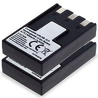 CELLONIC 2X Batería Premium Compatible con Canon Digital Ixus 500, 400, 430, 330, V2, V3, PowerSh...