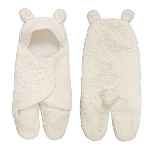 Vivianu Couverture pour nouveau-né en coton à capuche 0-12 m a