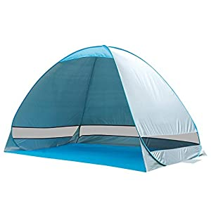 g4free outdoor automatic pop up instant portable cabana family tent shelter upf 50+
