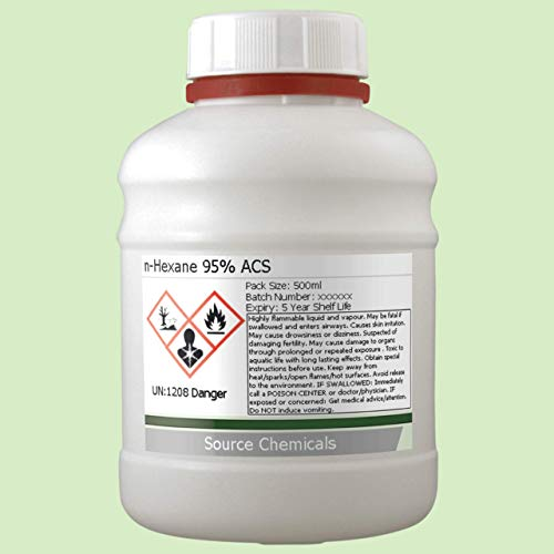 n-Hexane 95% 500ml Including Delivery