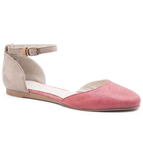 J Shoes , Sandales pour femme Rouge Corail - Deep Sea Coral/Cobblestone