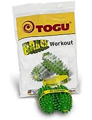 Togu Brasil 2Stück Zubehör Kraftsportler Handtasche Grün 4,7x 4,7x 10,6cm