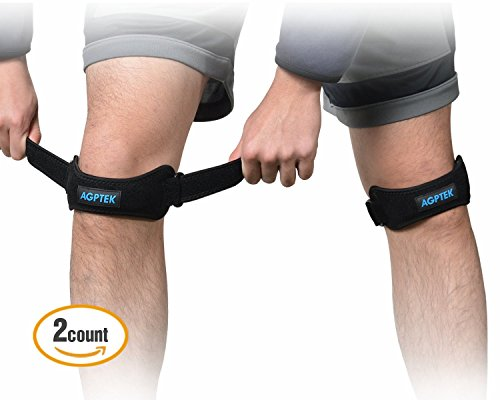 set-of-2-agptek-adjustable-knee-braces-support-patella-knee-strap-with-silicone-pad