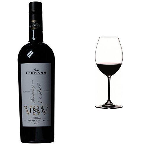 peter-lehmann-vsv-1885-shiraz-barossa-valley-2013-wine-75-cl-and-riedel-vinum-xl-syrah-red-wine-glas