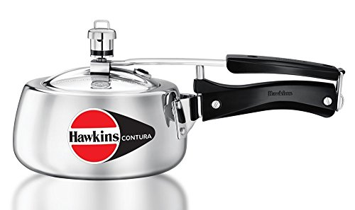 Hawkins Contura Pressure Cooker, 1.5 Litres  available at amazon for Rs.949