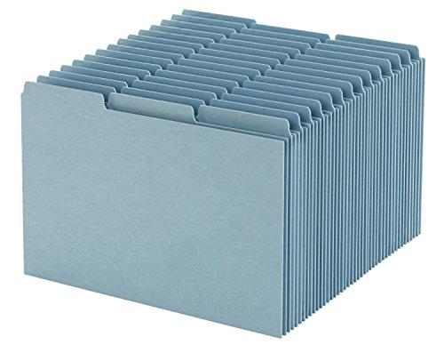 Oxford Karteikarte Guides mit blanko Taben, 12,7x 20,3cm, 1/3Cut Taben, blau, 100Pro Box (p513ee) (Rezept Card Box)