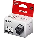 Canon 440 Ink Cartridge For Printer, Black