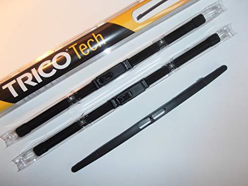 3set Trico avant et arrière d'essuie-glace 53,3 x 35,6 x 30,5 cm