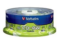 Verbatim CD-RW garantit la durabilité et la fiabilité lors de l'archivage des données à des vitesses de réécriture plus élevées. Ces disques vous permettent de réécrire des données sans erreurs jusqu'à 1000 fois.